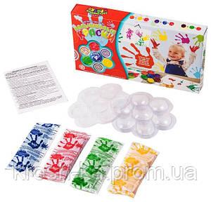 Пальчиковые краски Моё первое творчество Toys Китай PK-02.01