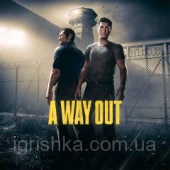 A Way Out Ps4 (Цифровой аккаунт для PlayStation 4) П3