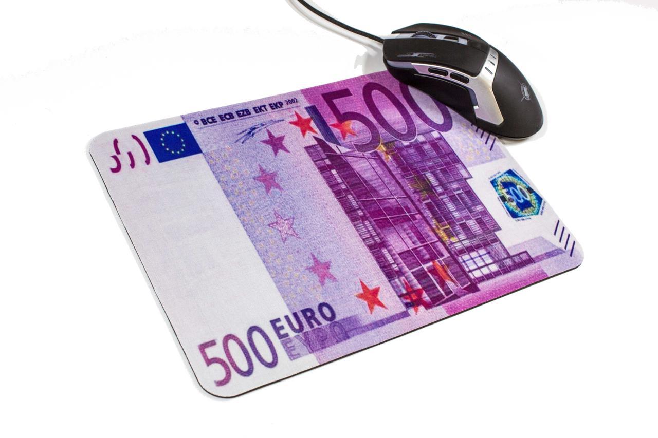 Прорезиненный коврик для компьютерной мыши 500 EURO 200x280
