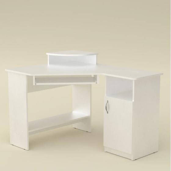 Стол компьютерный СУ-1  Компанит Нимфея Альба