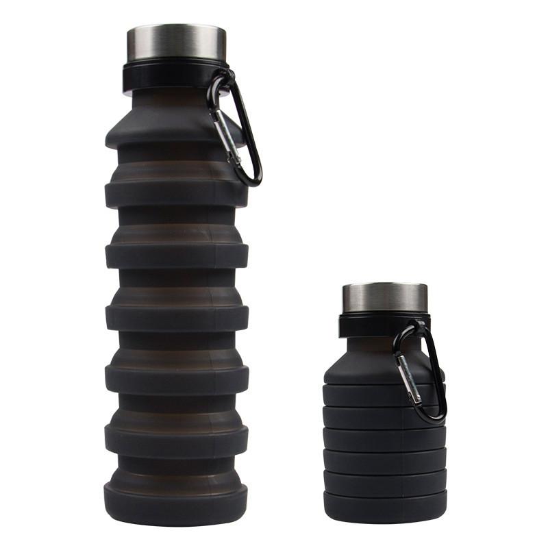 Складная бутылка спортивная антицеллюлитный массаж деревянным массажером