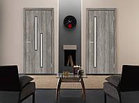 Двери межкомнатные Техно Т01 Natural Look стекло сатин