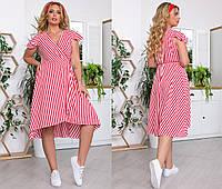 Платье летнее в расцветках в полосочку 70034, фото 1