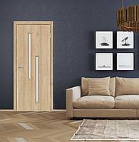 Двери межкомнатные Техно Т02 Natural Look стекло сатин
