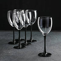 "Набор бокалов для вина 250 мл ""Domino"" Luminarc 6 шт., фото 1"