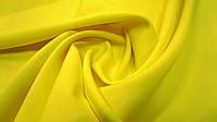 Одёжная ткань французский трикотаж желтого цвета