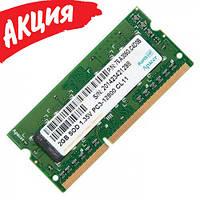 Оперативная память Apacer (SO-DIMM, DDR3L (1.35v), 2Gb, 1600MHz, 76.A305G.C4D0B) Б/У