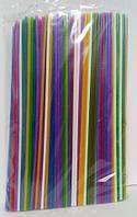 Трубочка для соков d3-25см  Махито микс (500 шт)