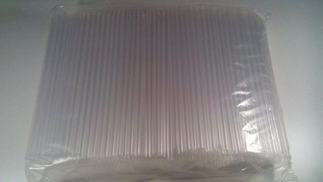 "Трубочка d6,8-21см""Фрешка"" прозрачная  (500 шт)"