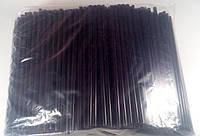 "Трубочка d6,8-21см""Фрешка"" черная (500 шт)"