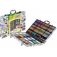 Crayola Набор для творчества в чемодане 140 предметов кейс Inspiration Art Case Art Set