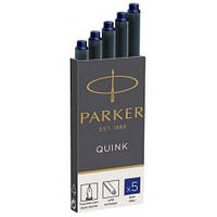 Картриджи Parker Quink /5шт. син. 11 410BLU