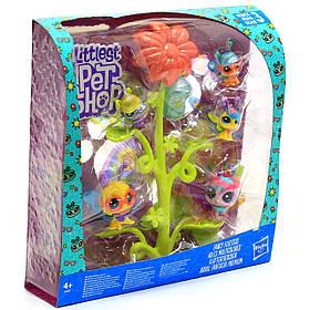 Ігровий набір Hasbro Littlest Pet Shop колекція пурхають преміум петов (E2159)