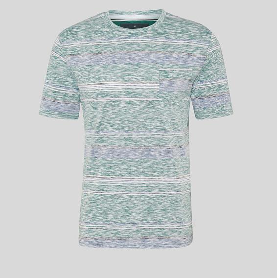 Фирменная стильная зеленая футболка С&A оригинал