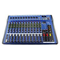 Аудио микшер Mixer 12USB CT12 канальный 179684