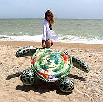 Матрас надувной Intex Черепаха тропическая, 191х170 см (57555), фото 2