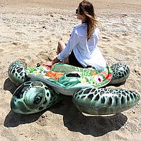 Матрас надувной Intex Черепаха тропическая, 191х170 см (57555), фото 3