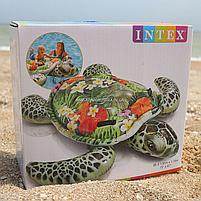 Матрас надувной Intex Черепаха тропическая, 191х170 см (57555), фото 5