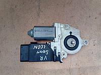 Склопідіймач ( мотор ) передній правий   Seat Leon 2005 р.  1C0 959 802 C, фото 1