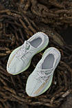 🔥 Кроссовки мужские спортивные повседневные Adidas Yeezy V2 Hyperspace (адидас изи буст хайперспейс белые), фото 4