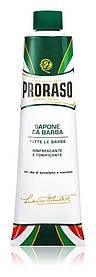 Мыло для бритья в тюбике Proraso GREEN 150 мл