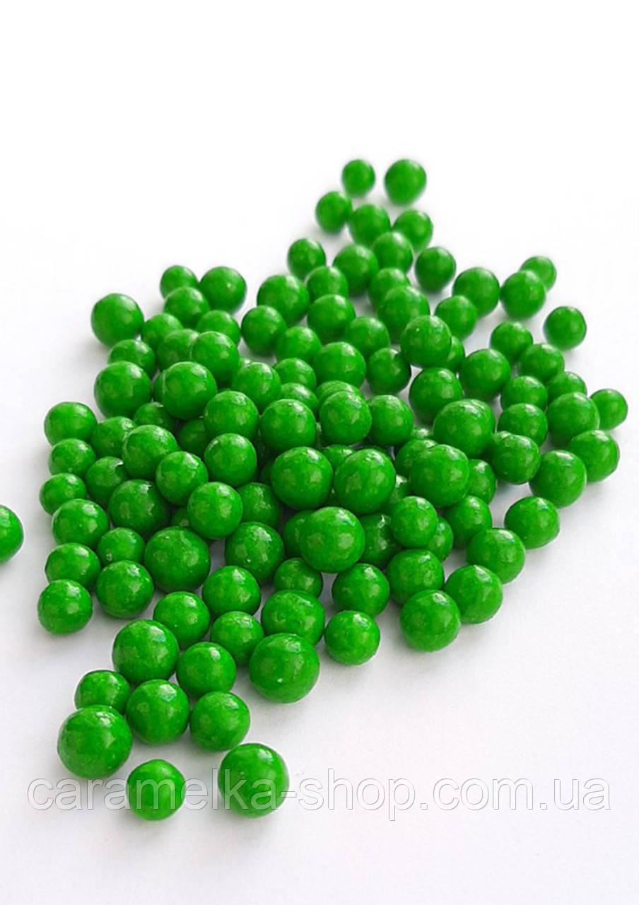 Посыпка кондитерская Драже зелёное мелкое