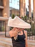 Кроссовки женские Nike Air Force 1 в стиле найк форсы белые (Реплика ААА+), фото 2