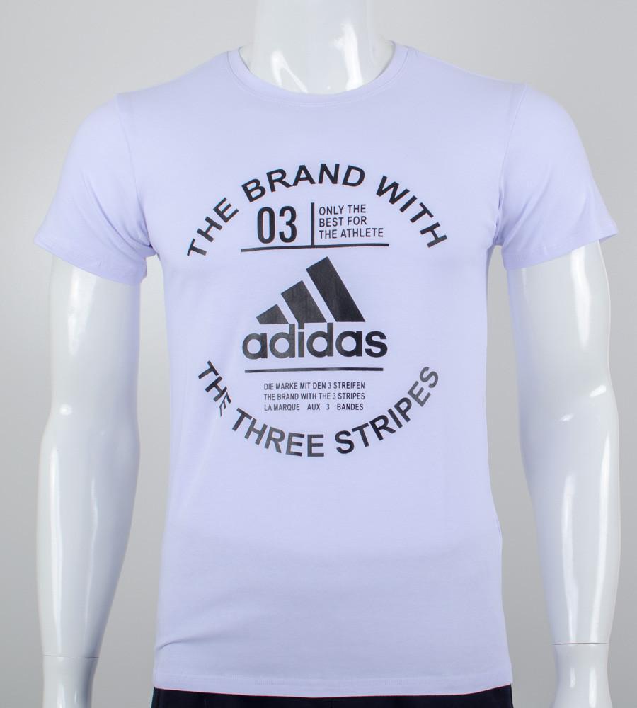 Футболка мужская Adidas (2056м), Белый