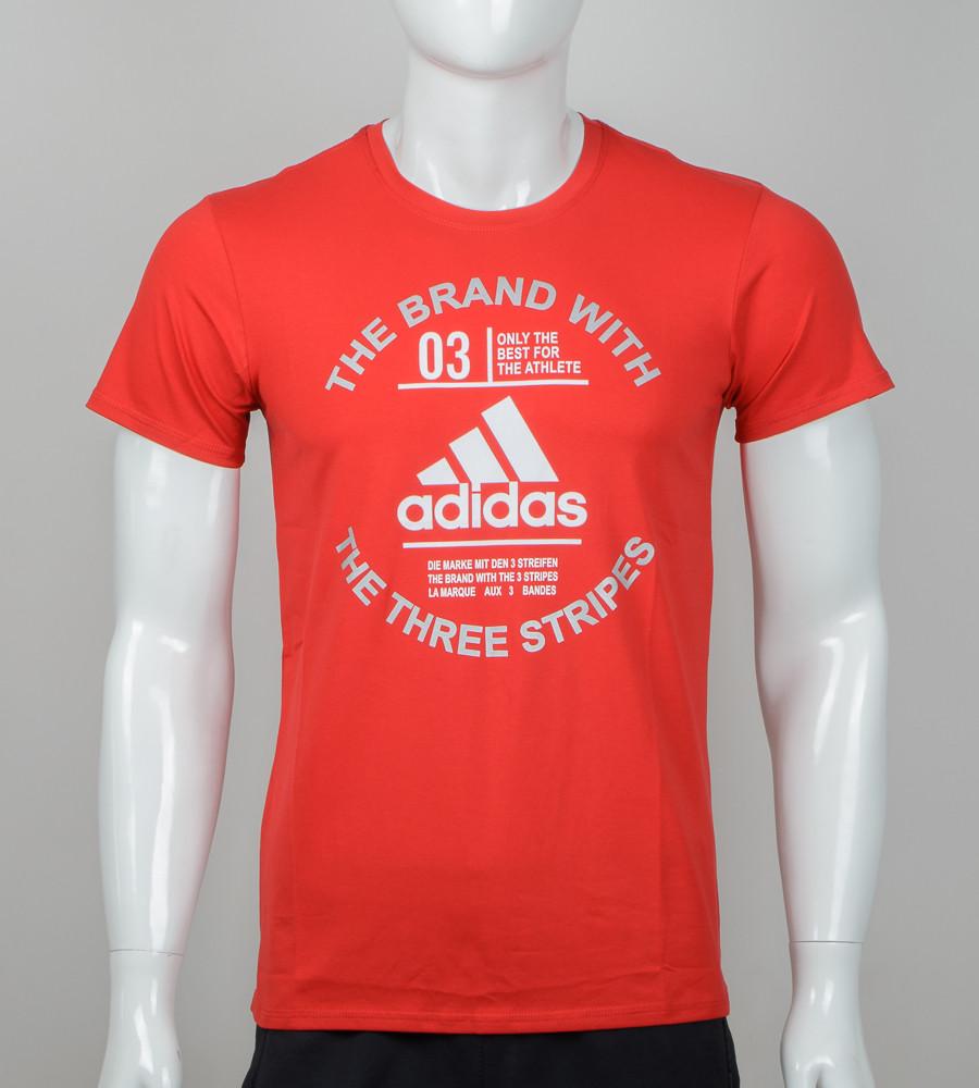 Футболка чоловіча Adidas (2056м), Червоний
