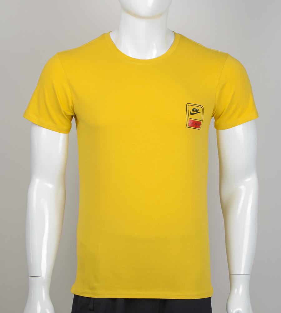 Футболка мужская Nike (2060м), Горчица