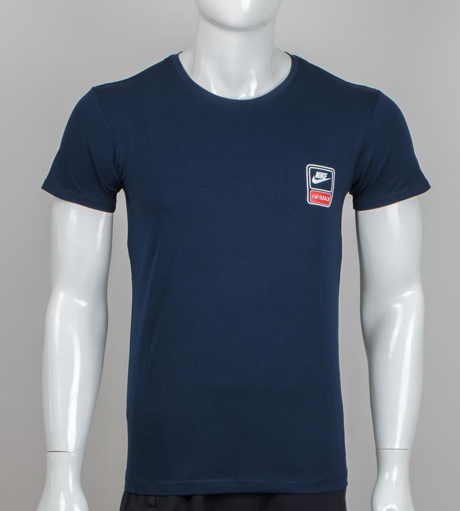 Футболка чоловіча Nike (2060м), Т. Синій