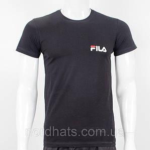 Футболка мужская FILA (1913м), Черный