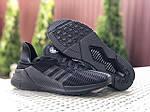 Мужские кроссовки Adidas Climacool (черные) 9531, фото 2