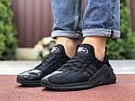 Мужские кроссовки Adidas Climacool (черные) 9531, фото 3