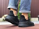 Мужские кроссовки Adidas Climacool (черные) 9531, фото 4