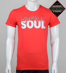 Футболка мужская SOUL (2063м), Красный