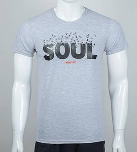 Футболка мужская SOUL (2063м), Серый