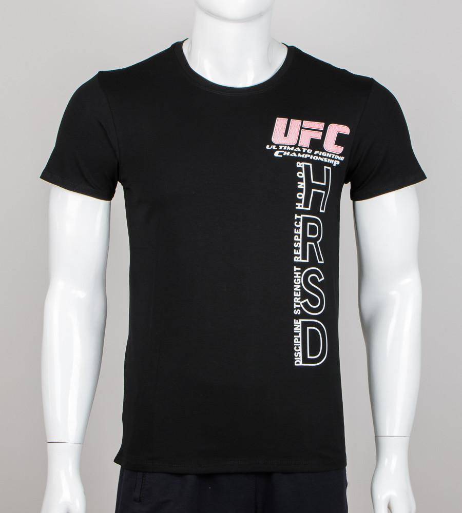 Футболка мужская UFC HRSD (2001м), Черный