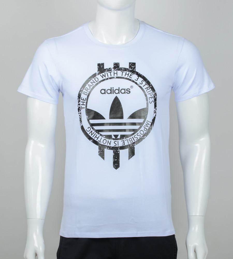 Футболка мужская Adidas (2074м), Белый