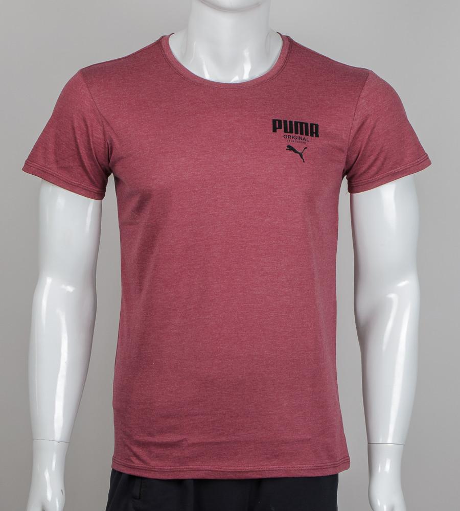Футболка мужская Puma (М003), Бордовый