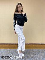 Белые спортивные брюки Nike 2
