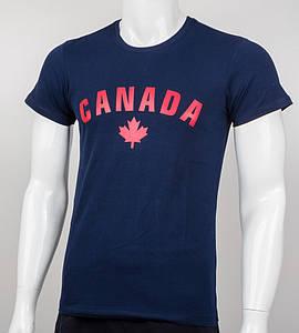 Футболка мужская CANADA (2012м), Т.Синий