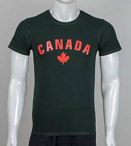 Футболка чоловіча CANADA (2012-го), Т. Зелений