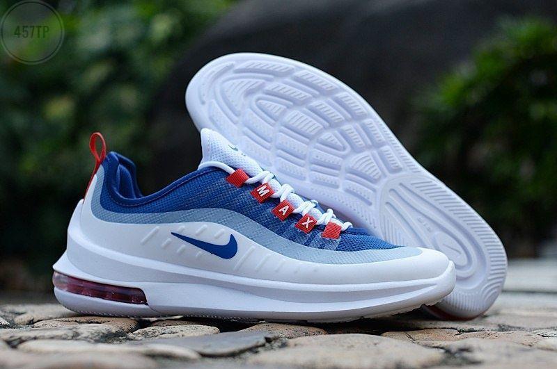 Чоловічі кросівки Nike Air Max Axis (біло-сині) 457TP