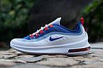 Чоловічі кросівки Nike Air Max Axis (біло-сині) 457TP, фото 4