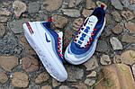 Чоловічі кросівки Nike Air Max Axis (біло-сині) 457TP, фото 5
