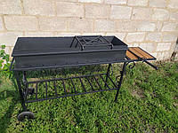 Мангал кованый на колесах GoodsMetall М32