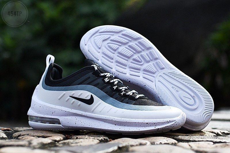 Чоловічі кросівки Nike Air Max Axis (біло-чорні) 454TP