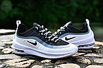 Чоловічі кросівки Nike Air Max Axis (біло-чорні) 454TP, фото 3