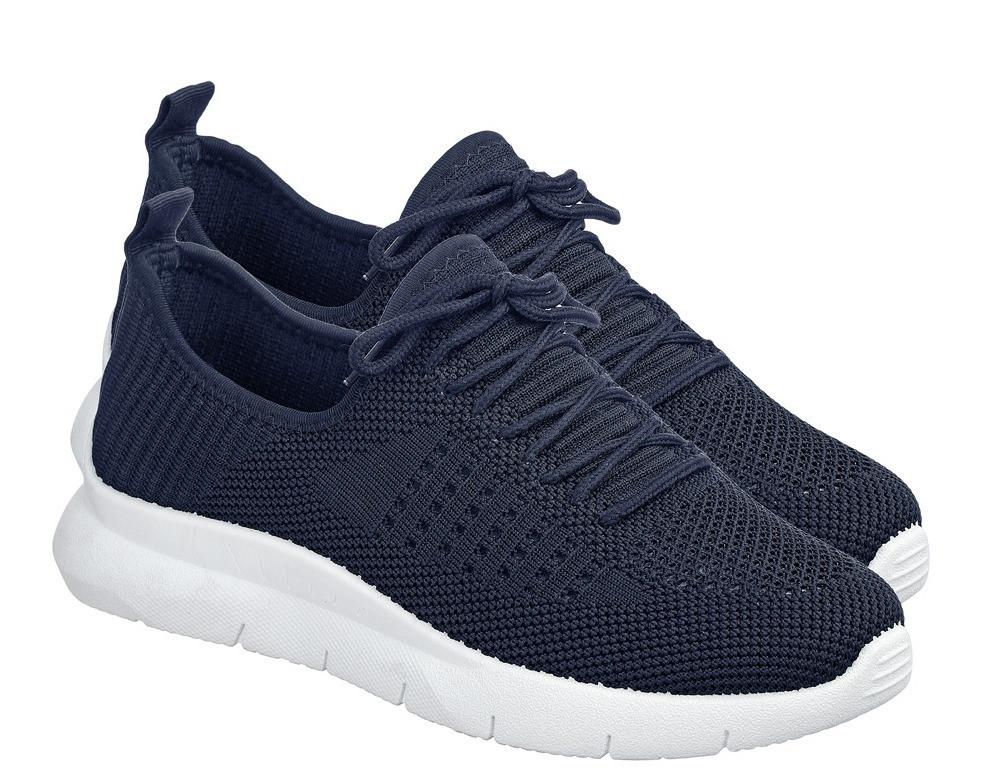 Летние синие женские кроссовки из вентилируемого текстиля GIPANIS 40 р. - 25 см (1203603192)